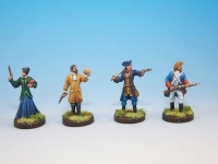 A Touch of Evil Board Game Miniatures