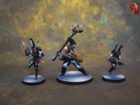 Infinity Aleph Miniatures