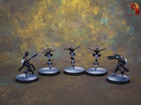 Infinity Aleph Miniatures