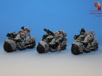Space Wolves Bikes