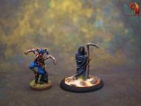The Reaper on a custom base