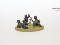 Bolt Action German Mortar