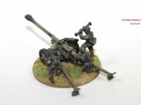 Bolt Action German Pak 40 Field Gun