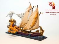 Dreadfleet Flaming Scimitar