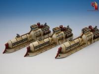 Dystopian Wars - Japanese Fleet