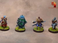 Gloomhaven Miniatures from the Core Game
