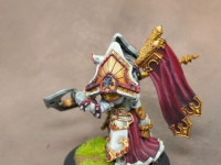 Warmachine Menoth painted to Level 3