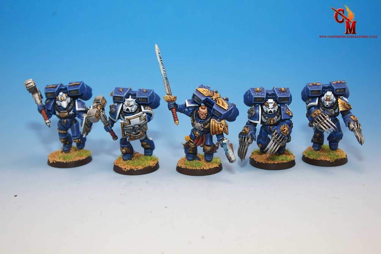 Ultramarine Veteran Assault Squad