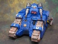 Ultramarines Sicaran Tank
