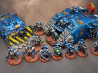 Ultramarine Vehicles and Infantry