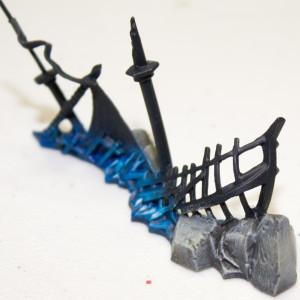 Dreadfleet painting Islands and Wrecks Step 4