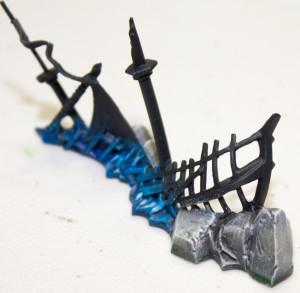 Dreadfleet painting Islands and Wrecks Step 6