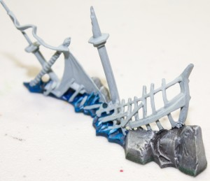 Dreadfleet painting Islands and Wrecks Step 7