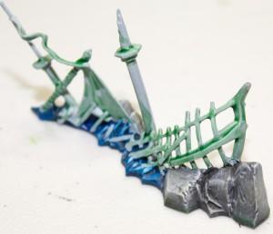 Dreadfleet painting Islands and Wrecks Step 8