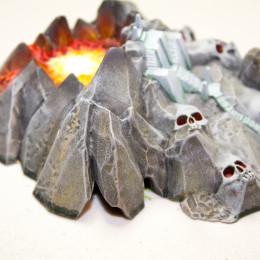 Painting Dreadfleet Volcano