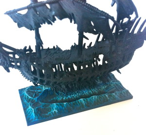 Dreadfleet painting water - Dreadfleet water for ship base