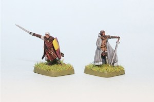 Kevan & Dddard painted for Battle of Westeros
