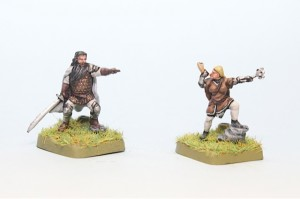 Maege and Great Jon painted from Battle of Westeros