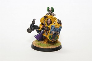 Imperial Fist Captain Lysander