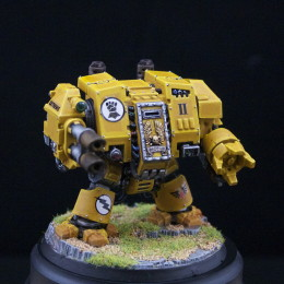 Imperial Fist Dreadnaught