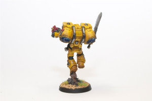 Imperial Fist Vanguard Veteran