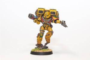 Imperial Fist Vanguard Veteran
