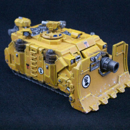 Painting Guide – Imperial Fist Vindicator