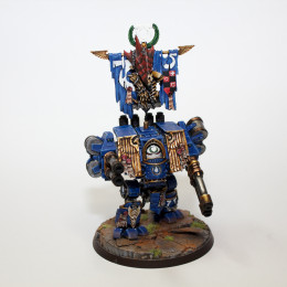 Painting Guide – Ultramarine Dreadnought