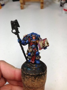 Crimson Fist Librarian WIP