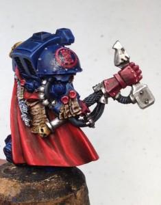 Crimson Fist Lysander WIP