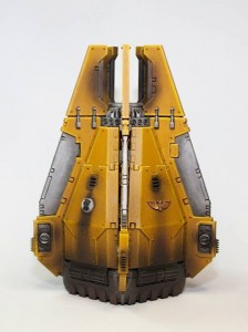 Imperial Fist Drop Pods