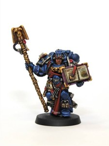 Crimson Fist Librarian