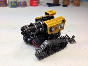 Imperial Fist Thunderfire Cannon