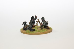 Bolt Action German Mortar