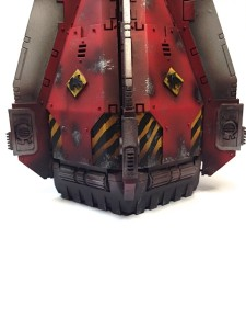 Red Space Wolves Drop Pod