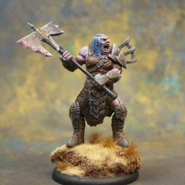 Painting Guide: Twelve Elements of War Kickstarter Miniature – Shadow Hold Female Troll