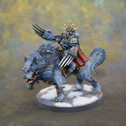 Space Wolves leap off the painting table