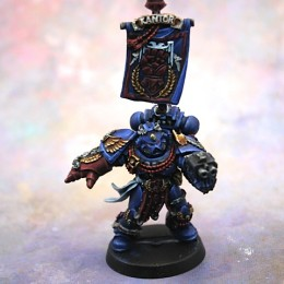 Chapter Master Pedro Kantor of the Crimson Fists
