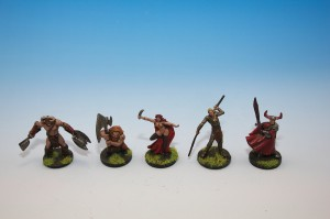 Descent Board Game Miniatures