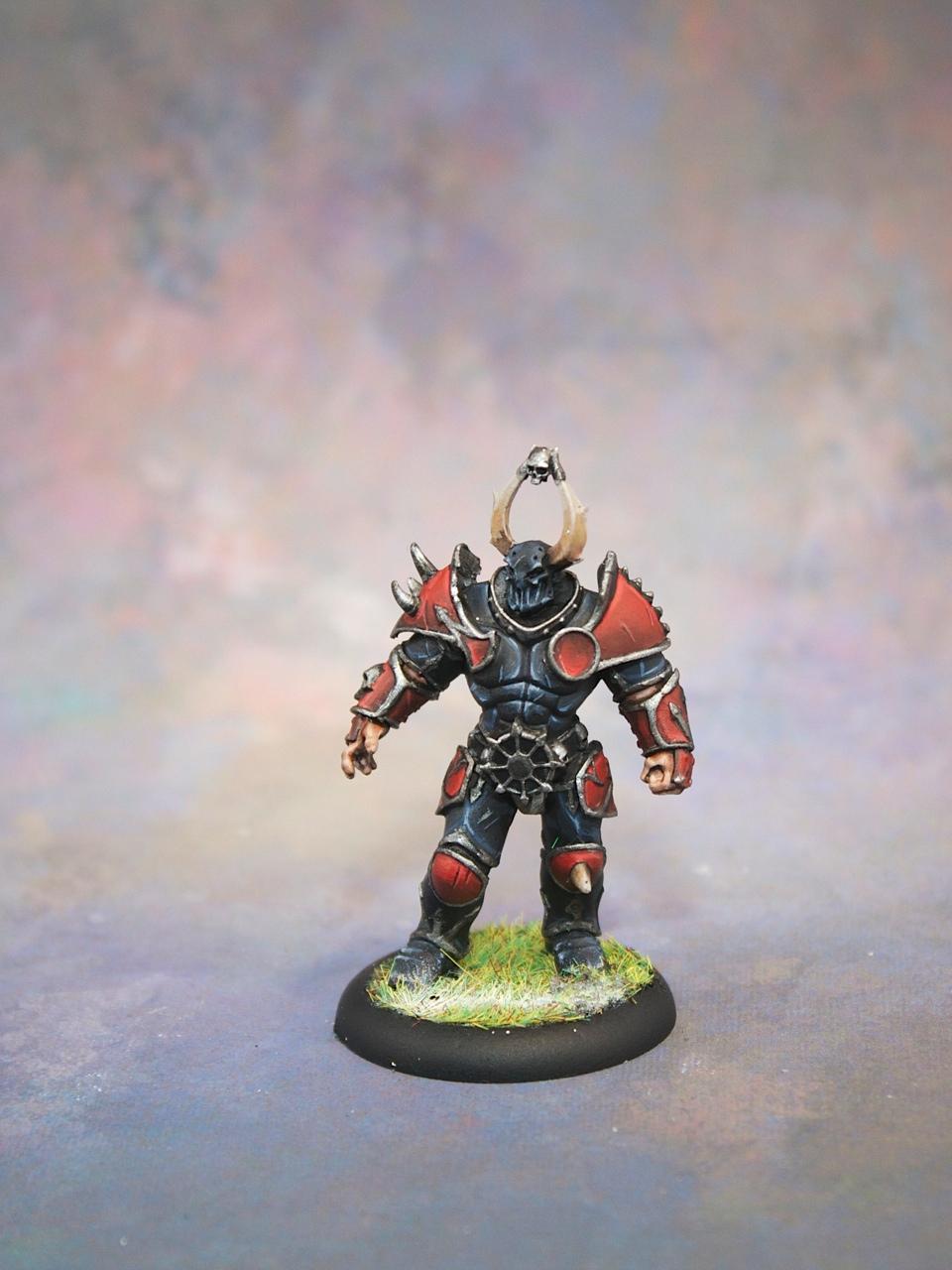 Blood Bowl Chaos Warriors Centerpiece Miniatures
