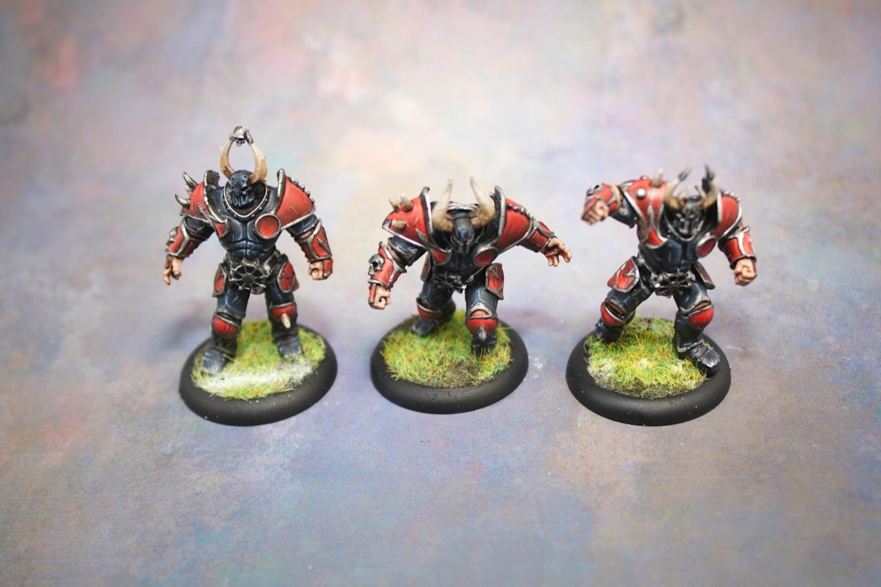Blood Bowl Chaos Warriors