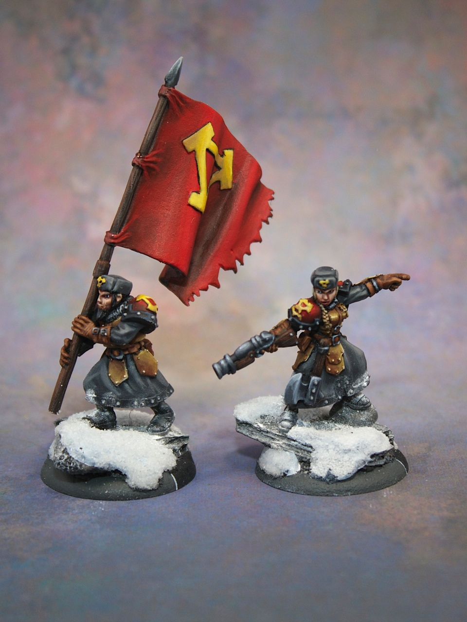 Khador Winter Guard Characters