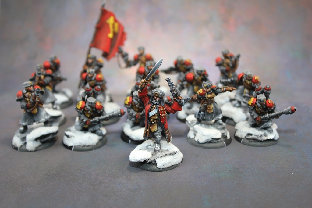 Khador Winter guard