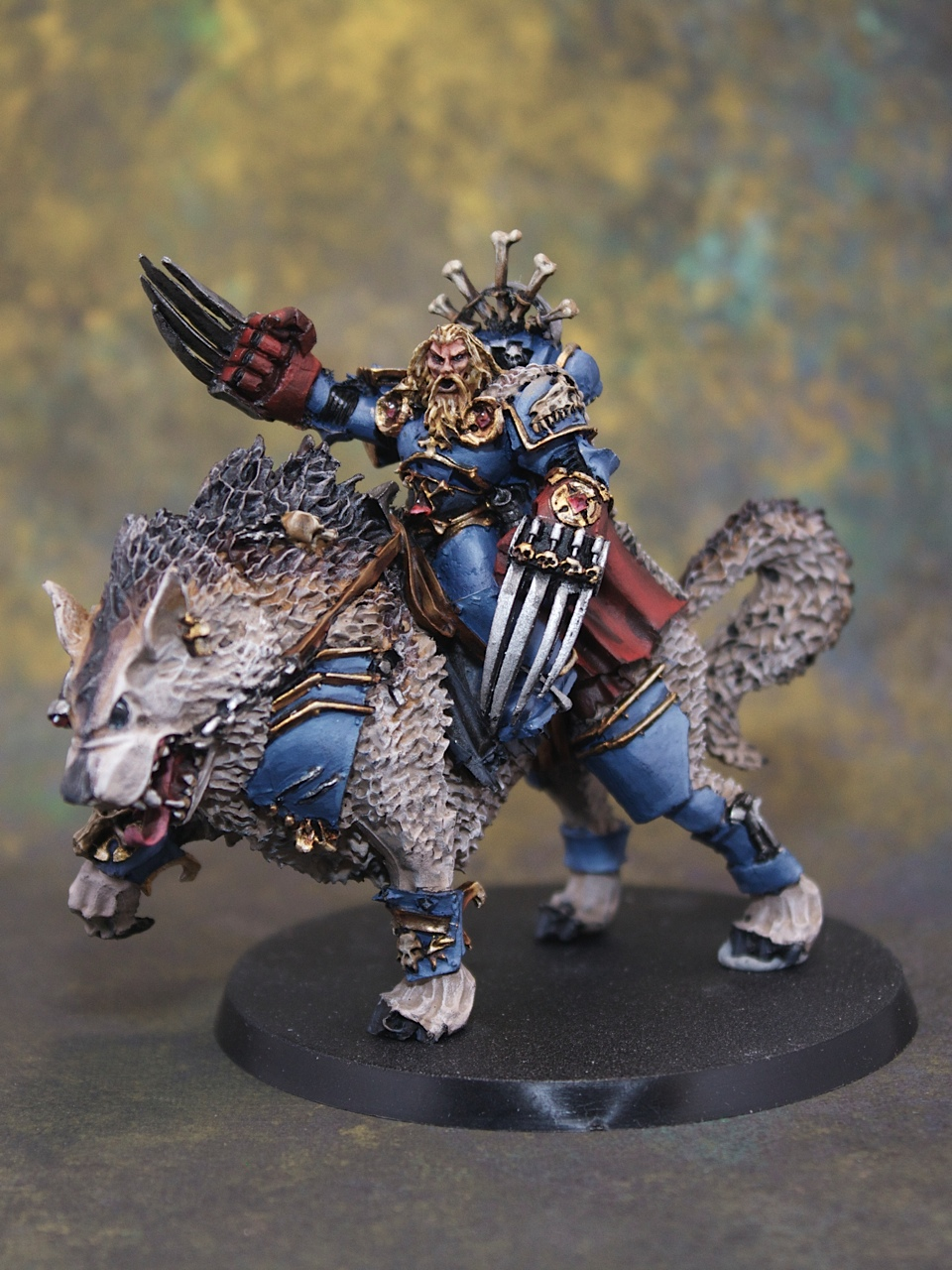 space wolf characters centerpiece miniatures