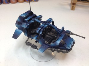 Ultramarine Land Speeder