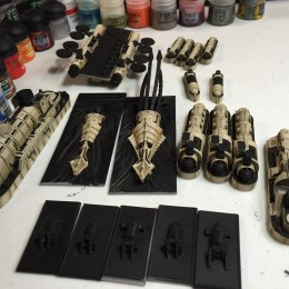 Dystopian Wars Japanese Fleet