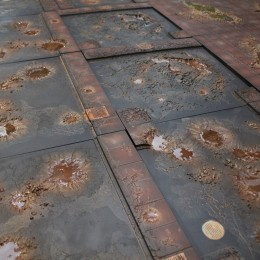 Secret Weapon's Tablescape – Lots and lots of tiles!