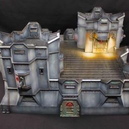 Warhammer 40k buildings for a Shrine World