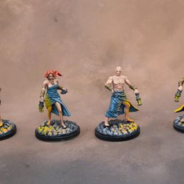 Multi-part Survivors from Kingdom Death Monster