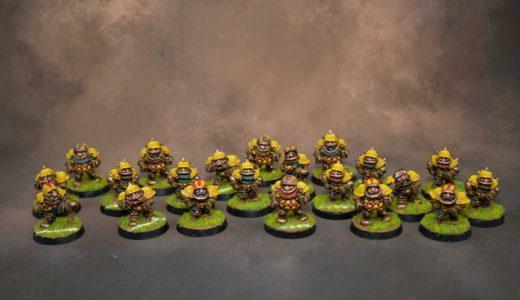Blood Bowl Dwarf Team